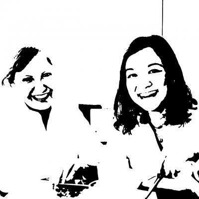 Angela Barros & Fernanda Hashiba